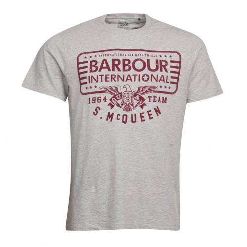 Barbour Eagle T-shirt Grigia