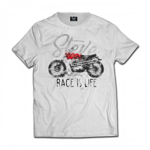 T-shirt Race Is Life BRD