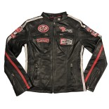 Daytona Leather Black Woman