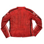 Daytona Leather Red Woman