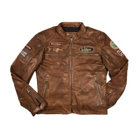 Classic Driver Jo Siffert Tan-Dark Jacket Men