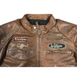 Classic Driver Jo Siffert Tan-Dark Jacket Men