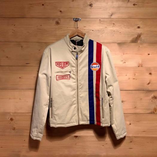 Daytona Leather Smoke White